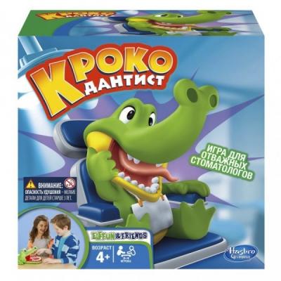 """990408 Игра настольная """"Крокодильчик Дантист"""" Hasbro"""