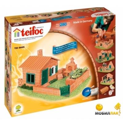 TEI8005 Строительный набор из кирпичиков Дом Teifoc