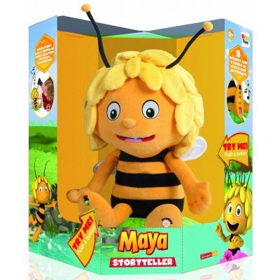 """99005 Интерактивная игрушка Пчелка """"Майя Сказочница"""" (4 песни и 6 историй) 30 см IMC Toys"""