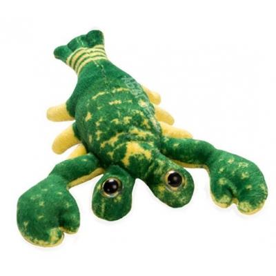 *SW-0084 Мягкая игрушка Рак малыш зеленый 20 см Абвгдейка
