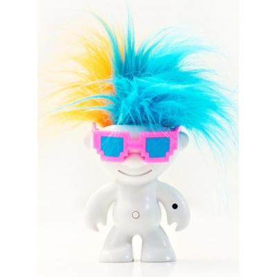 """1204 Игрушка Кукла Тролль """"Танцующие волосы"""" Dancing Troll Elektrokidz Wow Wee"""