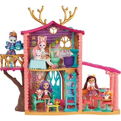 FRH50 Набор Домик Данессы Оленни с куклой Enchantimals Mattel