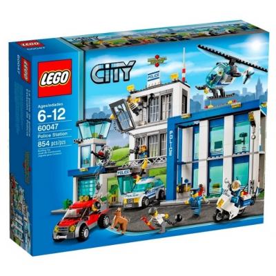 """99047 Конструктор Lego Ciy """"Полицейский участок"""" 854 детали Лего"""