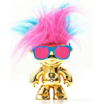 """1203 Игрушка Кукла Тролль """"Танцующие волосы"""" Dancing Troll Elektrokidz Wow Wee"""