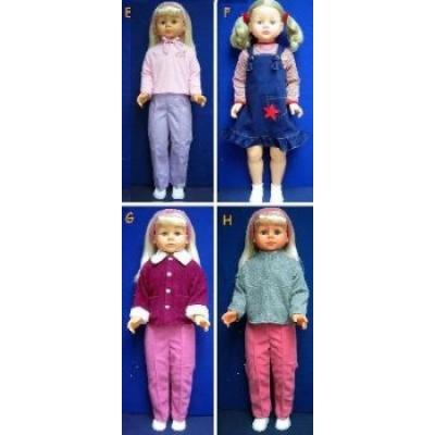 35001 Кукла шагающая 90 см Lotus Onda
