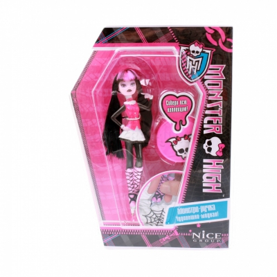 9989V Кукла ручка с подставкой Draculaura