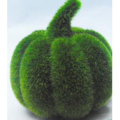 "6556 ЭКО-игрушка из травы ""Тыква"" 10х12 см"