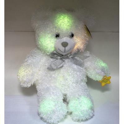 """99010 Мягкая игрушка """"Медведь"""" светящийся 36 см"""