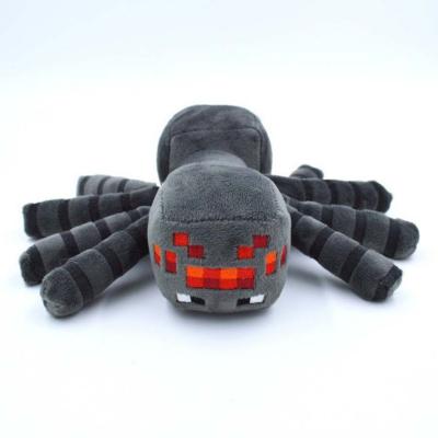 0002 Мягкая игрушка Паук из игры Майнкрафт Minecraft