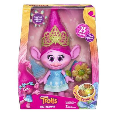 990015 Игрушка Тролли Поющая Поппи Розочка Тролли Hasbro Trolls