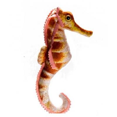 *SW-0089 Мягкая игрушка Морской конёк коричневый 24 см