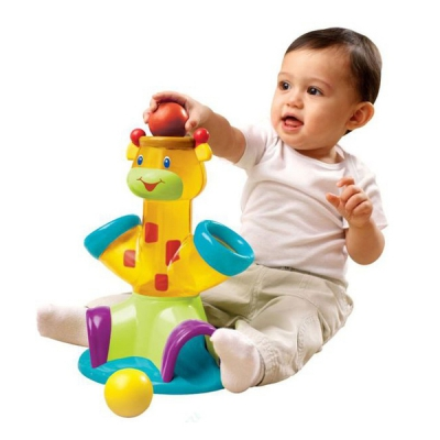 """99287 Развивающая игрушка """"Озорной жираф"""""""
