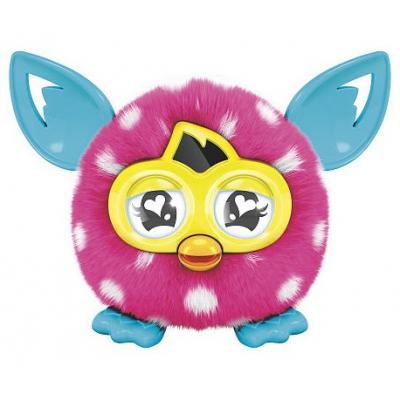 996100 Игрушка Малыш Ферблинг детеныш Ферби Розовый в горох Furby Furbling Hasbro