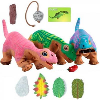 99392 Интерактивный робот-динозавр (с аксессуарами) PLEO RB