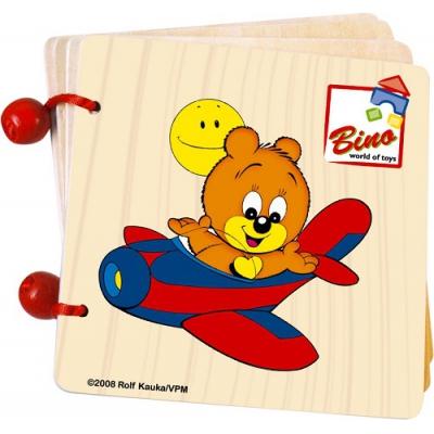 """99401 Книжка """"Медвежонок"""" Bino"""