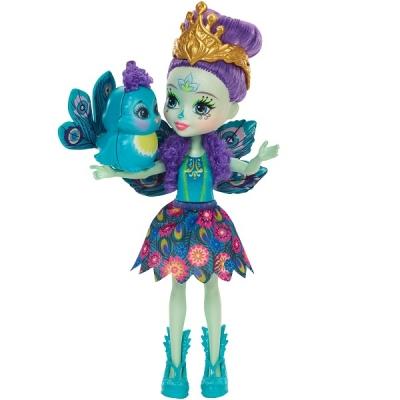 DYC76 Кукла Пэттер Павлина 15 см Enchantimals Mattel