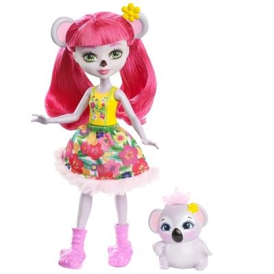 FCG64 Кукла Карина Коала 15 см Enchantimals Mattel