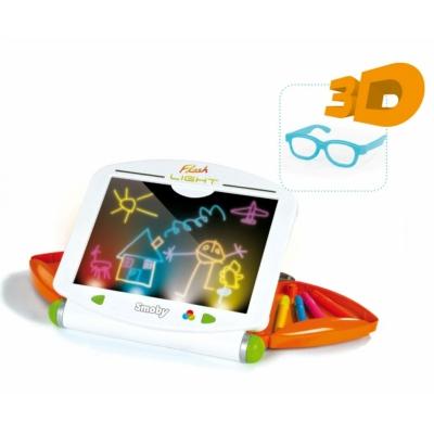 99157 Доска для рисования с люминесцентным эффектом с 3D Smoby Simba