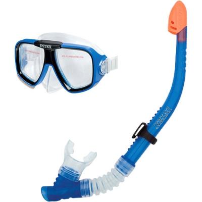 99060 Плавательная маска с трубкой детская Intex