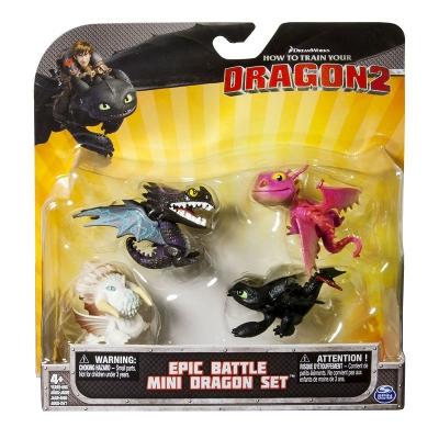 """996681 Набор фигурок-игрушек """"Как приручить дракона"""" Беззубик 4 шт."""