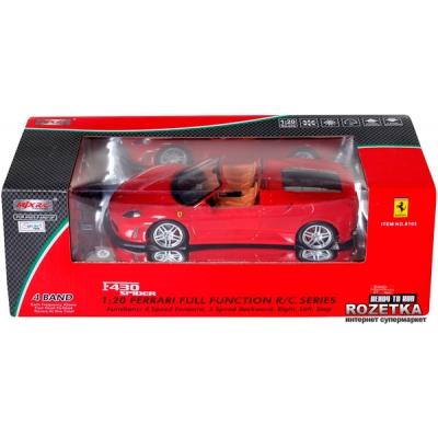 8103 Машина на радиоуправлении Ferrari F430 Spider MJX