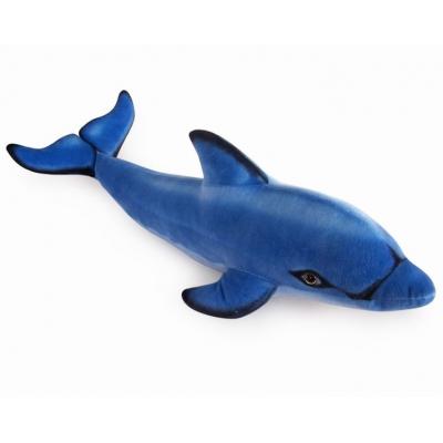 *NS-0044 Мягкая игрушка Дельфин Афалина синий 53 см Абвгдейка