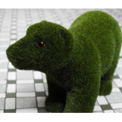 """6551 ЭКО-игрушка из травы """"Медведь"""" большой 25х30 см"""