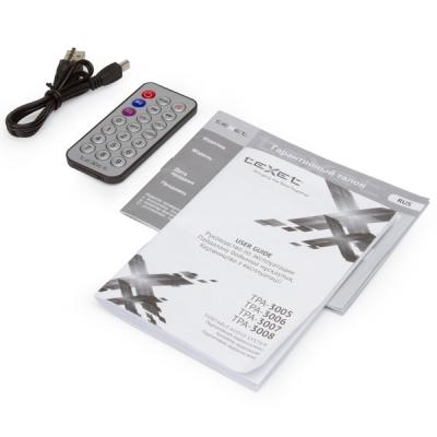 996625 Портативная аудиосистема мягкая игрушка 25 см PandaBear TeXet