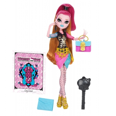 BJM41 Кукла Джиджи Грант Скарместр Школа Монстров Monster High