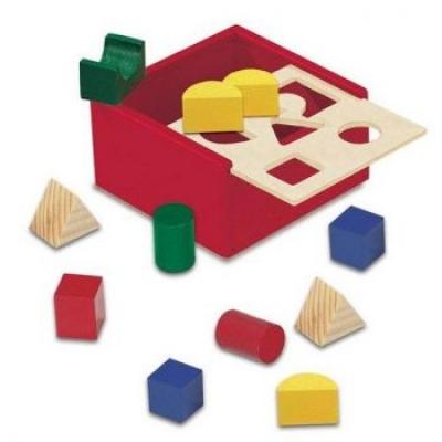 """84052 Развивающий куб """"Геометрические фигуры"""""""