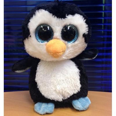 """99001 Мягкая игрушка Пингвинчик """"Глазастик""""  16 см"""