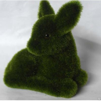 """6553 ЭКО-игрушка из травы """"Олененок"""" 14х12 см"""