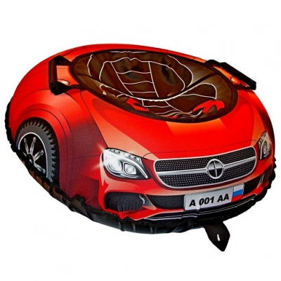 98657 Санки-ватрушка Тюбинг 100 см Super Car Mercedes RT