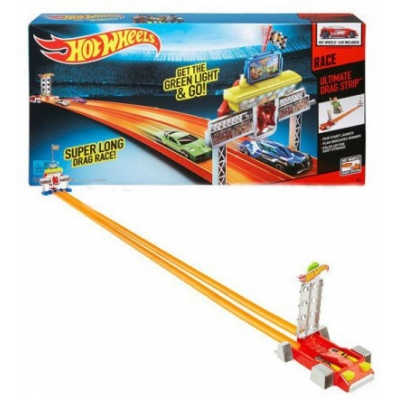 990332 Трек для Дрэг-рейсинга 2,75 м Hot Wheels Mattel