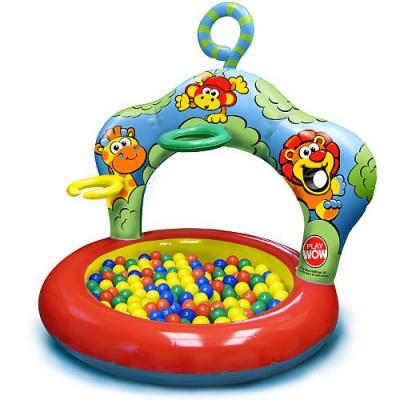 """993067 Сухой бассейн с шарами """"Джунгли"""" Play wow"""