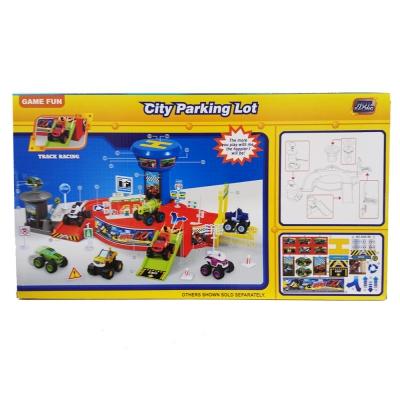 """82858 Игровой набор Паркинг """"Вспыш и Чудо-машинки"""" MT"""