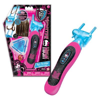000MHHL2 Набор для плетения косичек в комплекте с аксессуарами Monster High