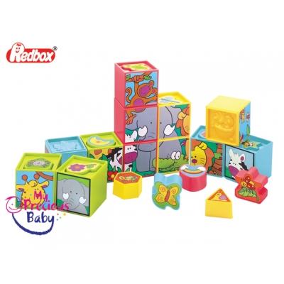 23097 Игровой набор Кубики 12 шт Red Box