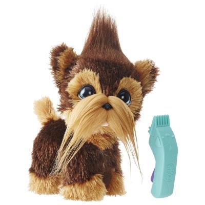"99142 Интерактивная собака ""Лохматый пёс"" Йорк 30 см FurReal Friends Hasbro"