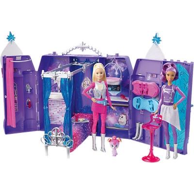 991645 Игровой набор Космический замок Barbie DPB51 Mattel