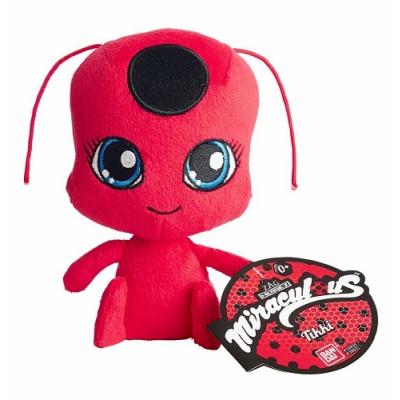 39831 Мягкая игрушка Тикки питомец Леди Баг 15 см Miraculous Ladybug Bandai