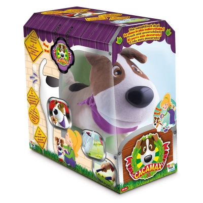 993997 Интерактивная Собака Cacamax 25 см IMC Toys