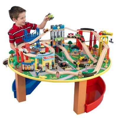 990145 ✦ Железная дорога со столиком Kidkraft