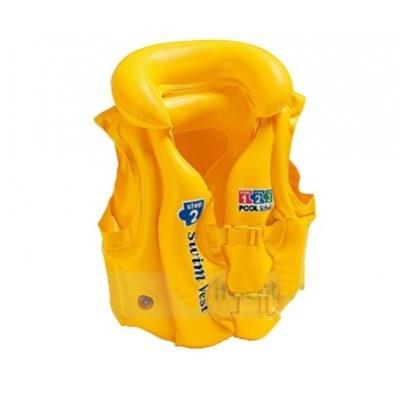 99660 Жилет детский надувной желтый Intex