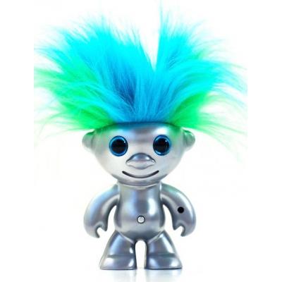 """1205 Игрушка Кукла Тролль """"Танцующие волосы"""" Dancing Troll Elektrokidz Wow Wee"""
