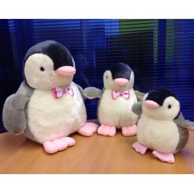 """*PA0003 Мягкая игрушка Пингвин """"Розовые лапки"""" 20 см"""