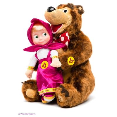 """99777 Набор игрушек """"Маша и Медведь"""" Мульти-пульти"""