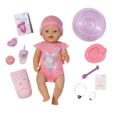 991330 Кукла интерактивная с аксессуарами Беби Бон Baby Born