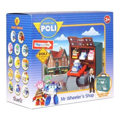 *990321 Игровой набор Автомастерская Уиллера Робокар Поли SilverLit