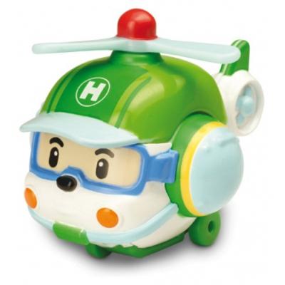 """990302 Игрушка """"Металлический Вертолетик Хэли"""" 6 см Робокар Поли SilverLit"""